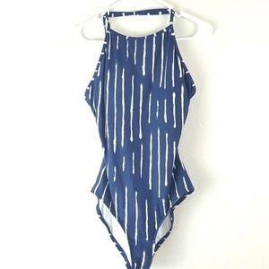 Ann Taylor Loft Tie Dye One-Piece Bathing Suit